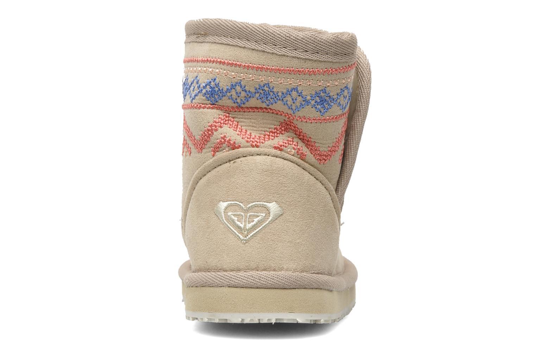 Boots en enkellaarsjes Roxy MINI TESS Beige rechts