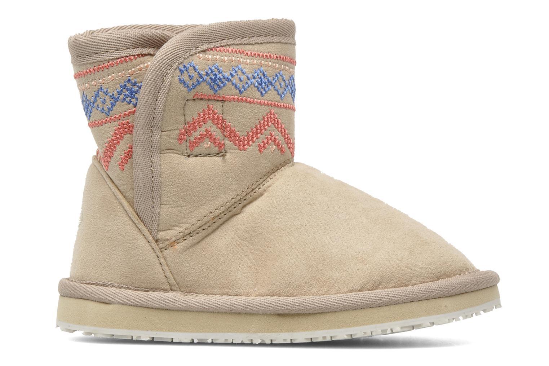 Boots en enkellaarsjes Roxy MINI TESS Beige achterkant
