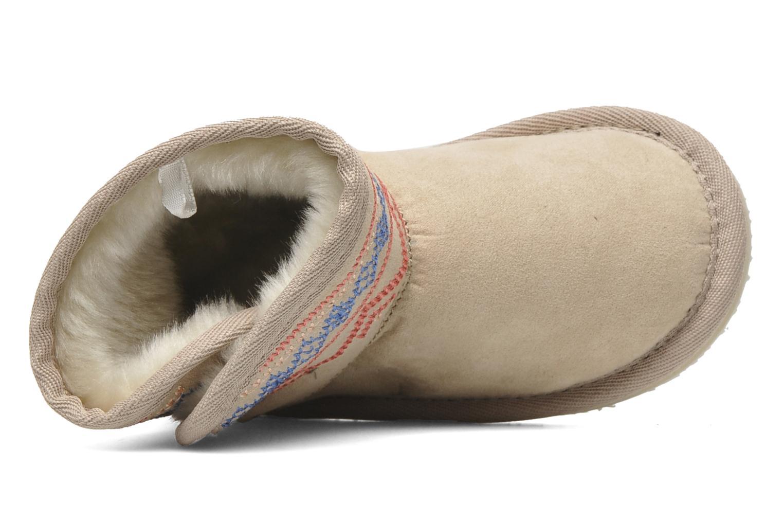 Boots en enkellaarsjes Roxy MINI TESS Beige links