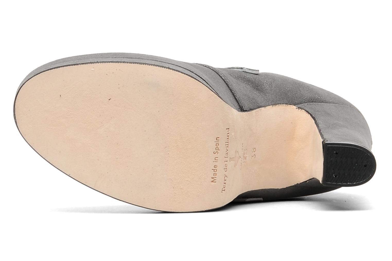 Bottines et boots Terry de Havilland Joni Noir vue haut