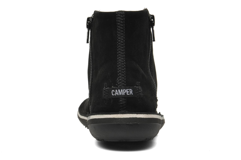 Bottines et boots Camper Beetle 46613 Noir vue droite