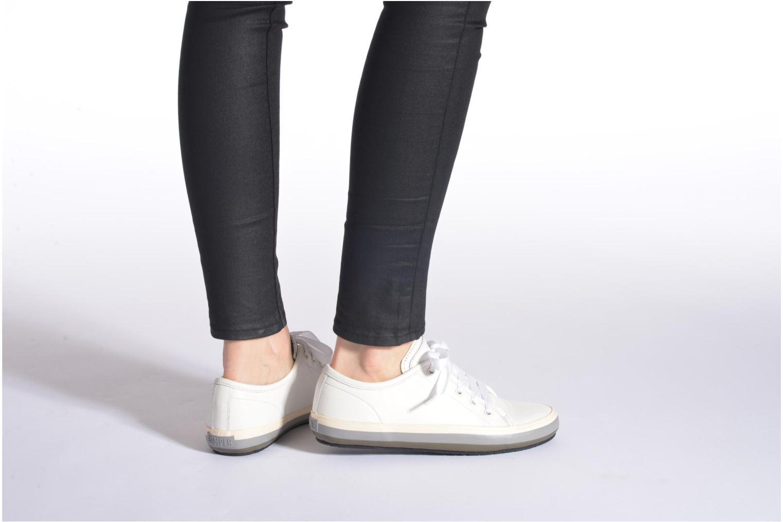 Sneaker Camper Portol 21888 weiß ansicht von unten / tasche getragen