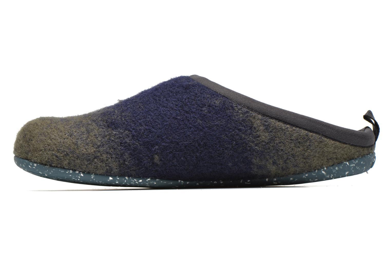 Hausschuhe Camper Wabi 18811 blau ansicht von vorne