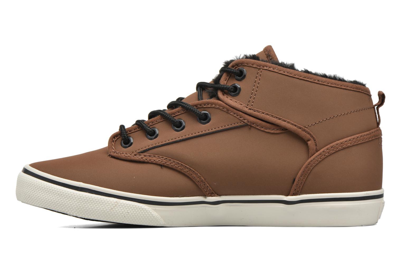 Chaussures de sport Globe MOTLEY MID FUR Marron vue face