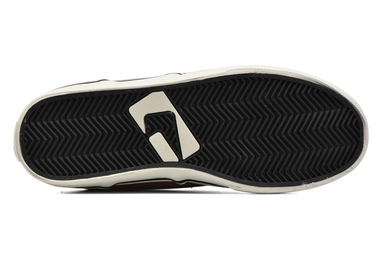 Zapatillas de deporte Globe MOTLEY MID FUR Marrón vista de arriba