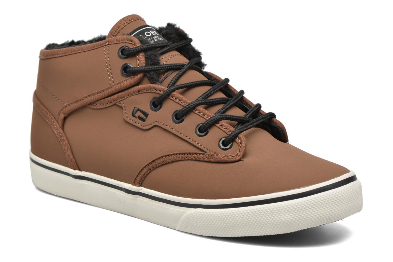 Chaussures de sport Globe MOTLEY MID FUR Marron vue détail/paire