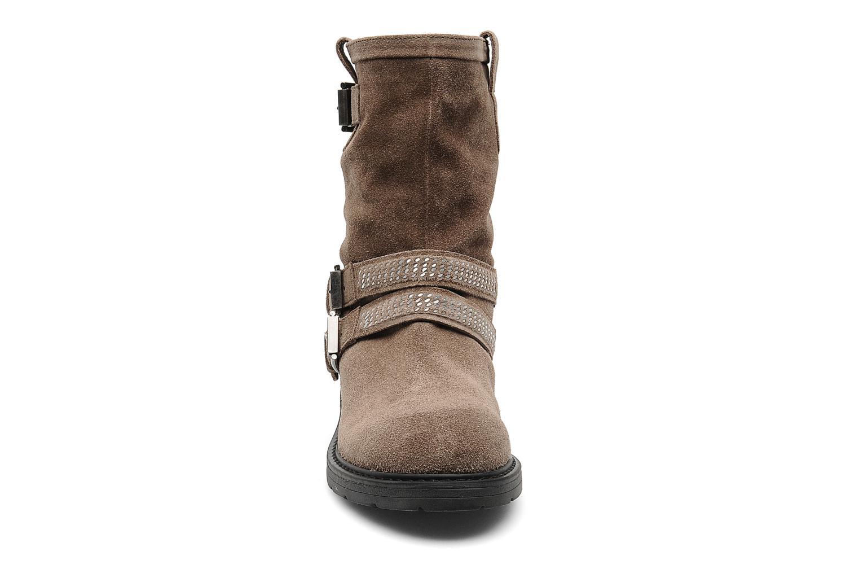 Bottines et boots Janet Sport Javia Beige vue portées chaussures