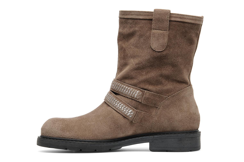 Bottines et boots Janet Sport Javia Beige vue face