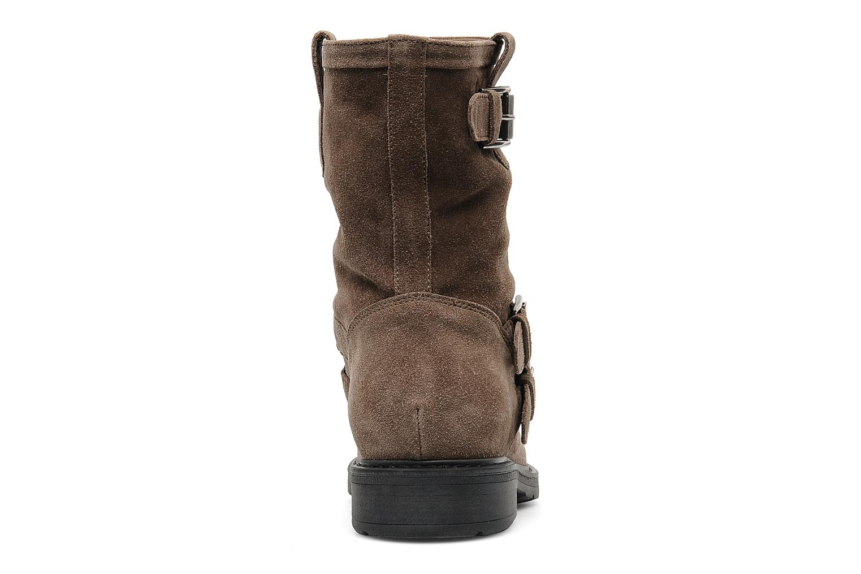 Bottines et boots Janet Sport Javia Beige vue droite
