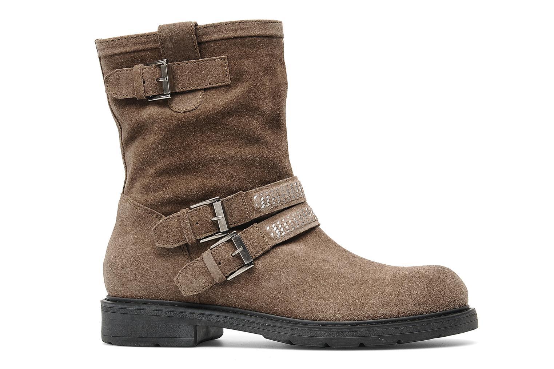 Bottines et boots Janet Sport Javia Beige vue derrière