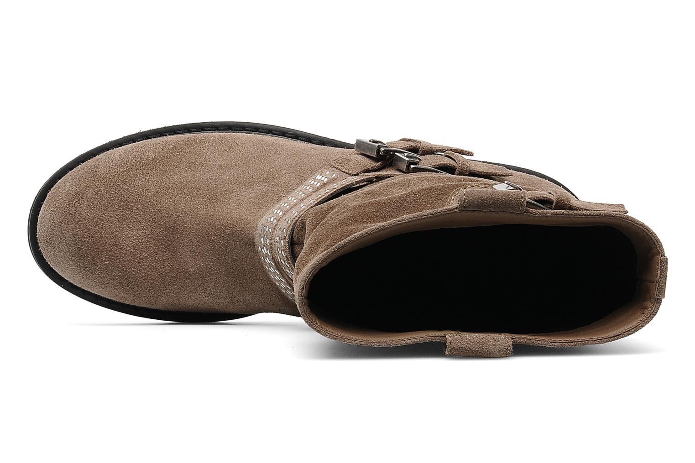Bottines et boots Janet Sport Javia Beige vue gauche