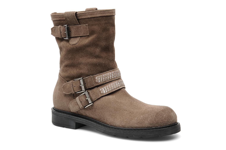 Bottines et boots Janet Sport Javia Beige vue détail/paire