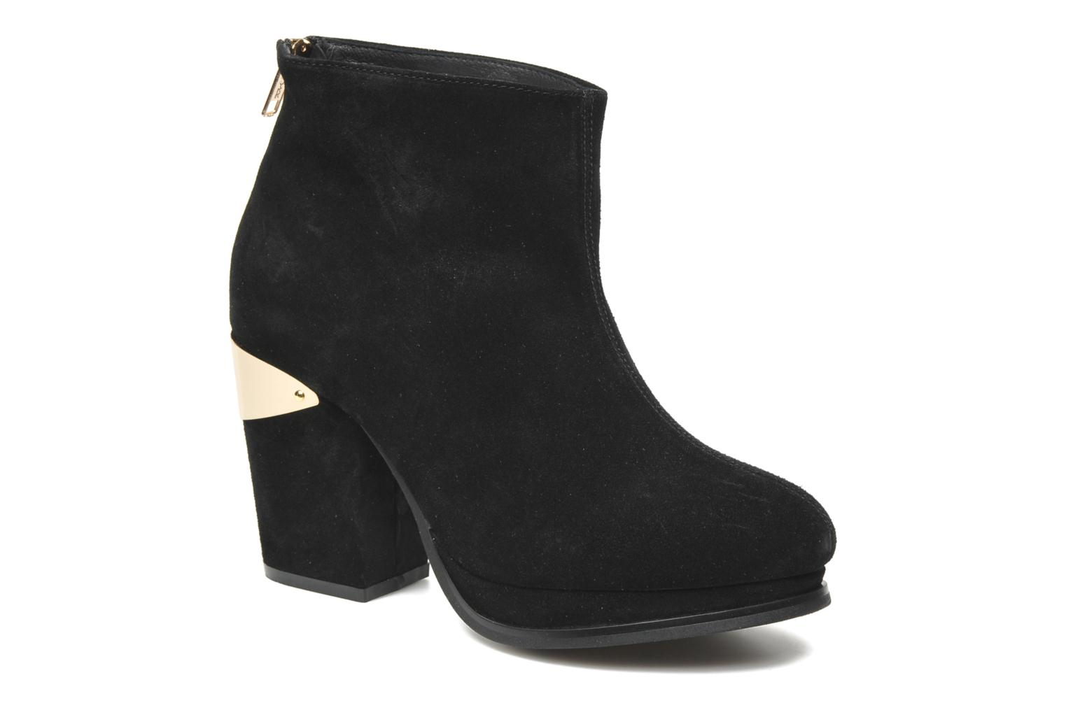 Larry boot Black Suede