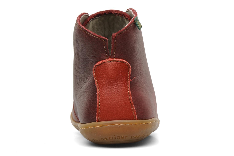 Chaussures à lacets El Naturalista Viajero N267 W Bordeaux vue droite