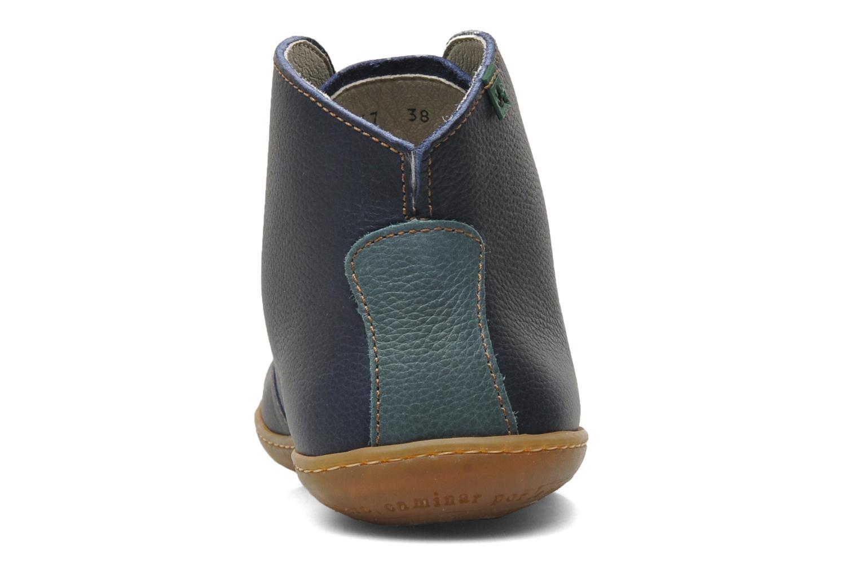 Chaussures à lacets El Naturalista Viajero N267 W Bleu vue droite