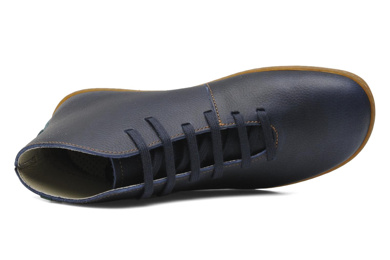 Chaussures à lacets El Naturalista Viajero N267 W Bleu vue gauche
