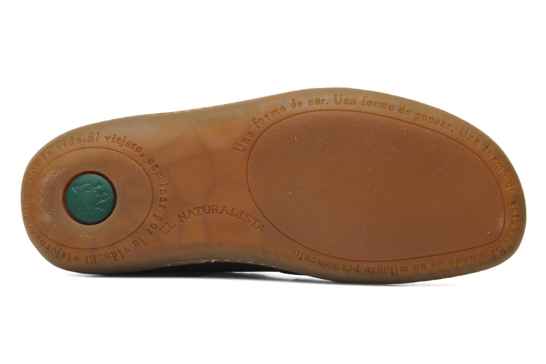 Chaussures à lacets El Naturalista Viajero N267 W Bleu vue haut