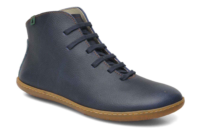 Chaussures à lacets El Naturalista Viajero N267 W Bleu vue détail/paire
