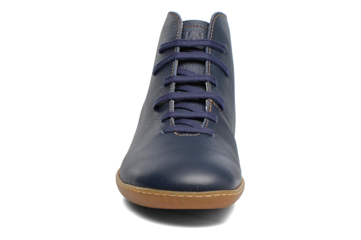 Lace-up shoes El Naturalista Viajero N267 W Blue model view