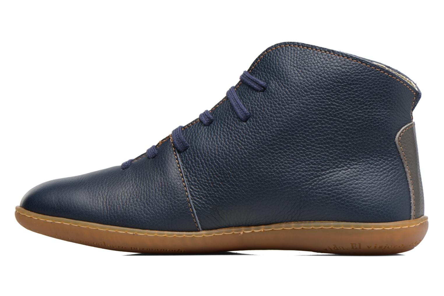 Lace-up shoes El Naturalista Viajero N267 W Blue front view