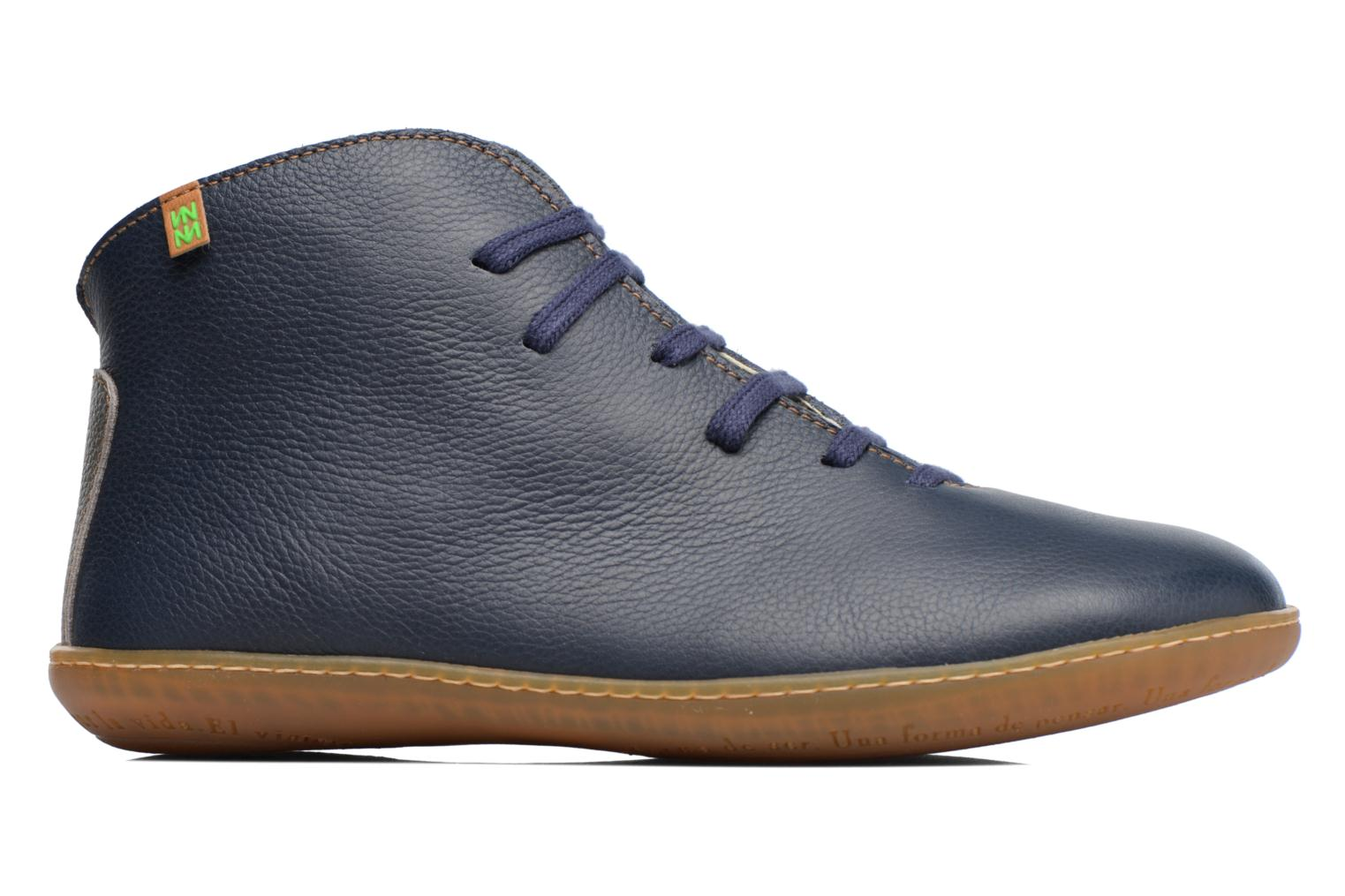 Lace-up shoes El Naturalista Viajero N267 W Blue back view