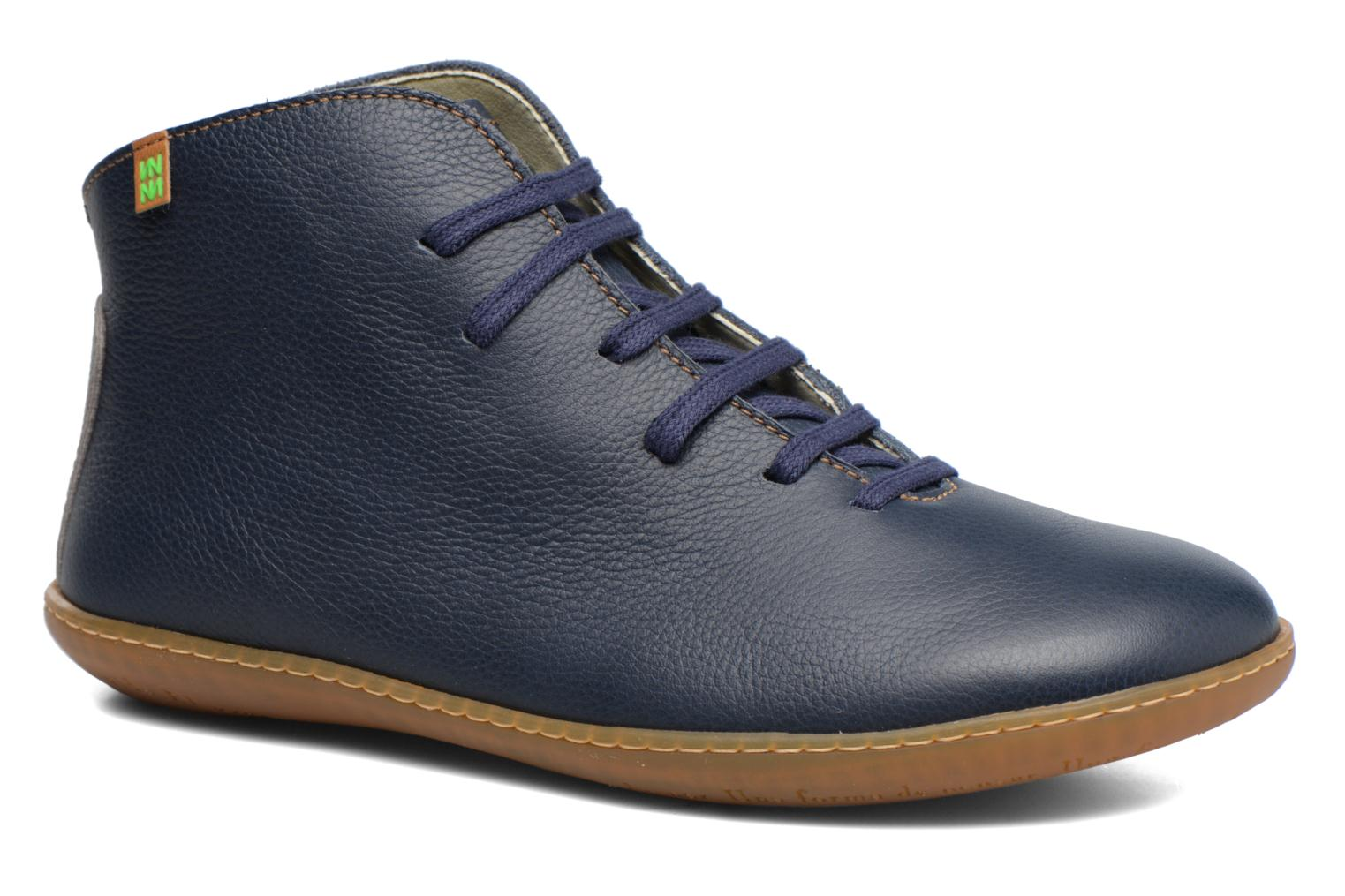 Lace-up shoes El Naturalista Viajero N267 W Blue detailed view/ Pair view