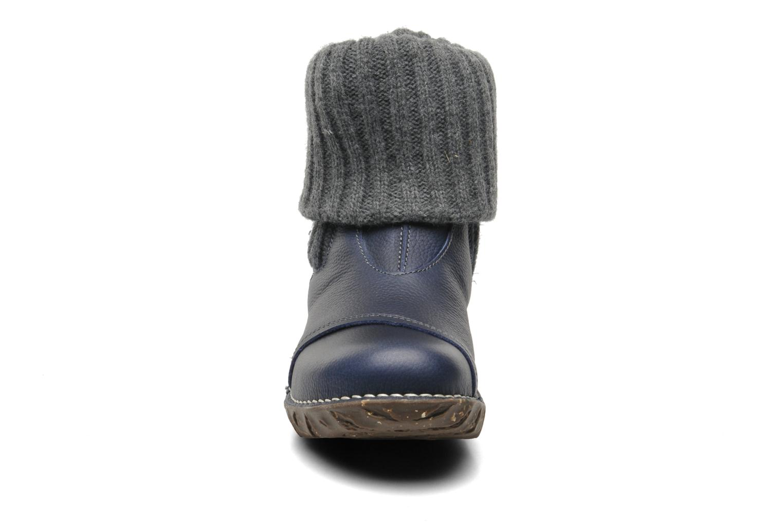 Bottines et boots El Naturalista Iggdrasil N097 Bleu vue portées chaussures