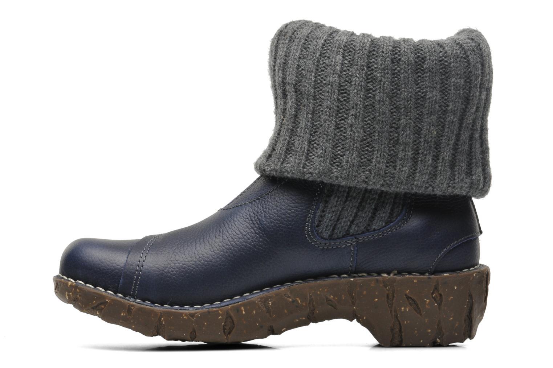 Bottines et boots El Naturalista Iggdrasil N097 Bleu vue face