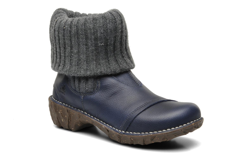 Bottines et boots El Naturalista Iggdrasil N097 Bleu vue détail/paire