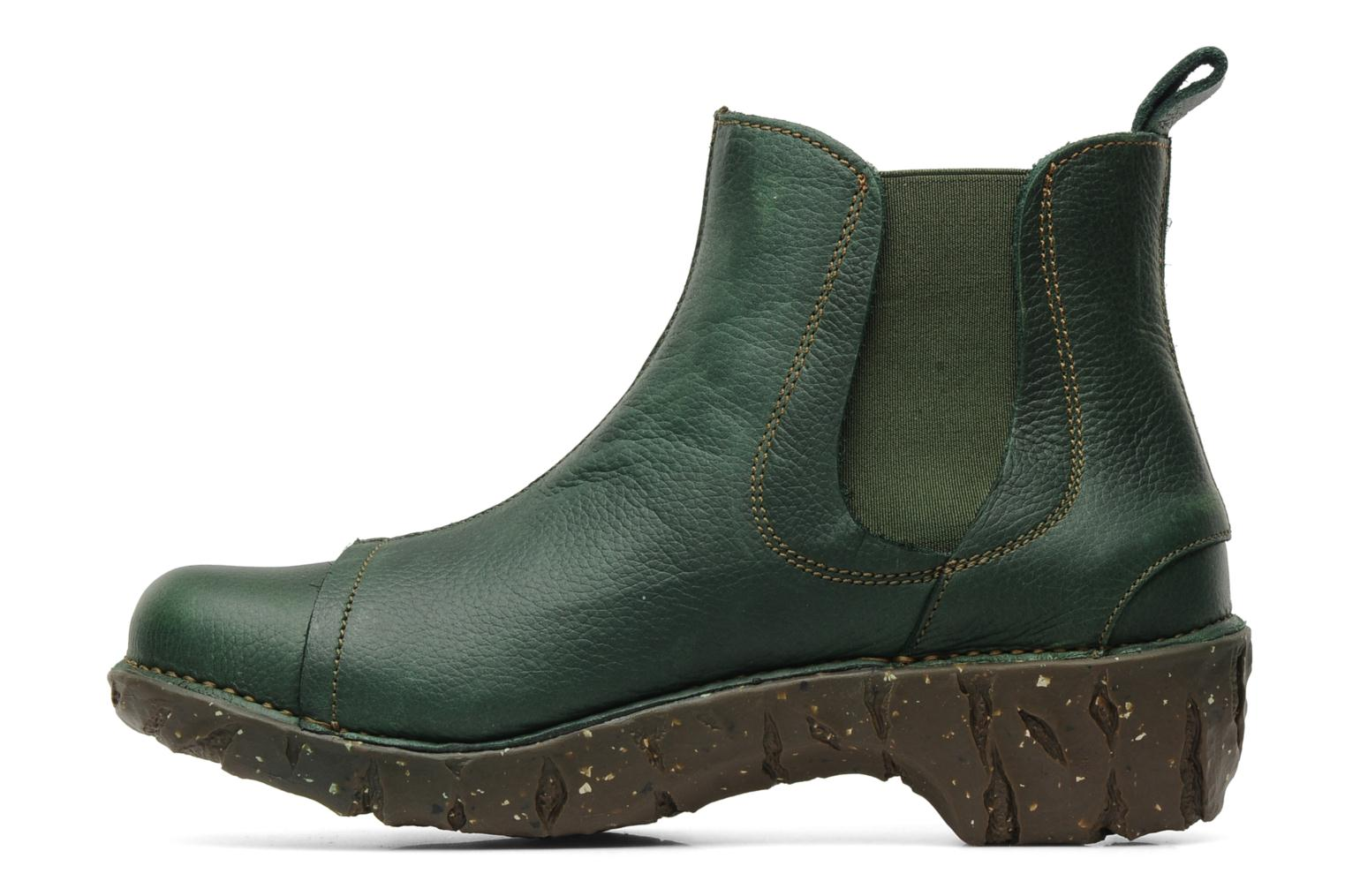 Ankle boots El Naturalista Iggdrasil N158 Green front view
