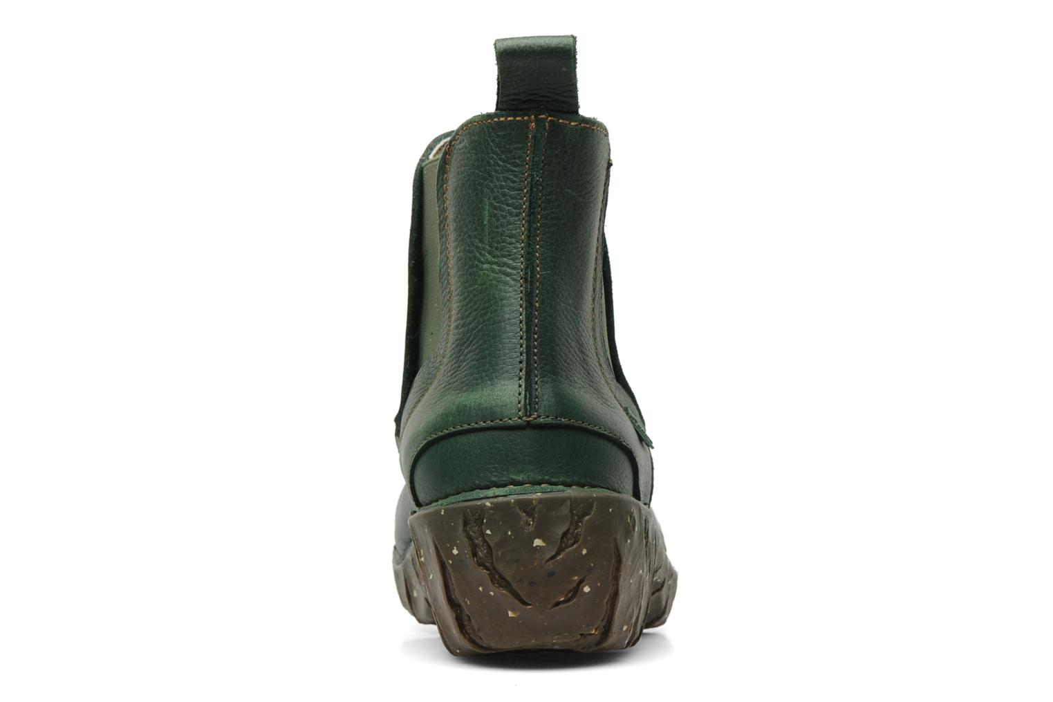 Ankle boots El Naturalista Iggdrasil N158 Green view from the right
