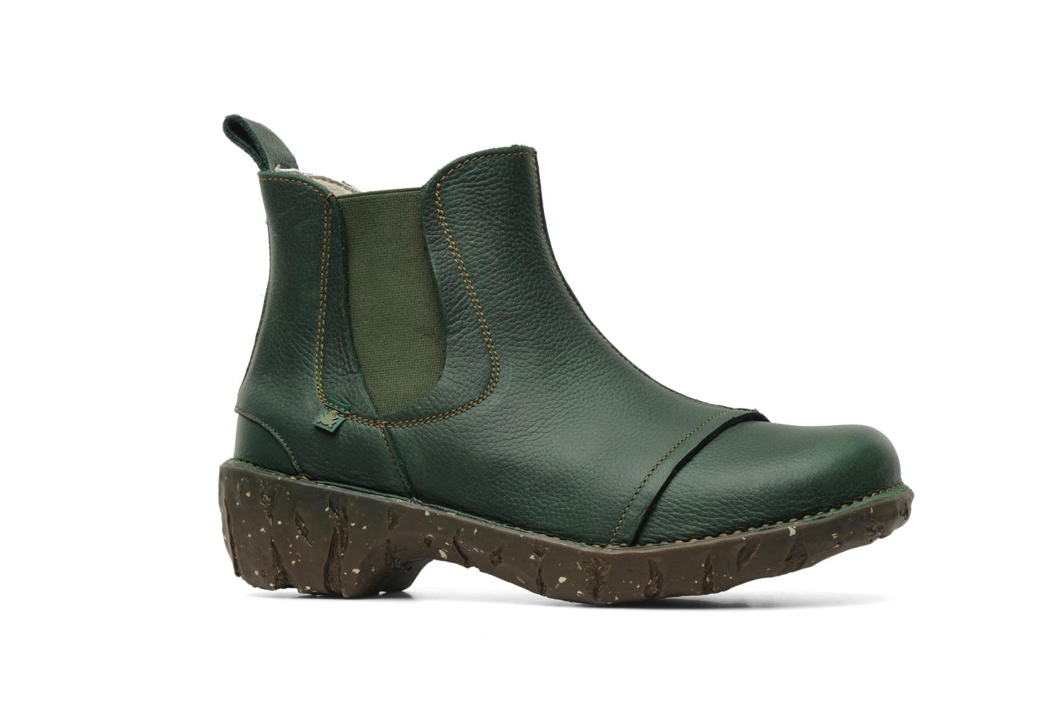 Ankle boots El Naturalista Iggdrasil N158 Green back view