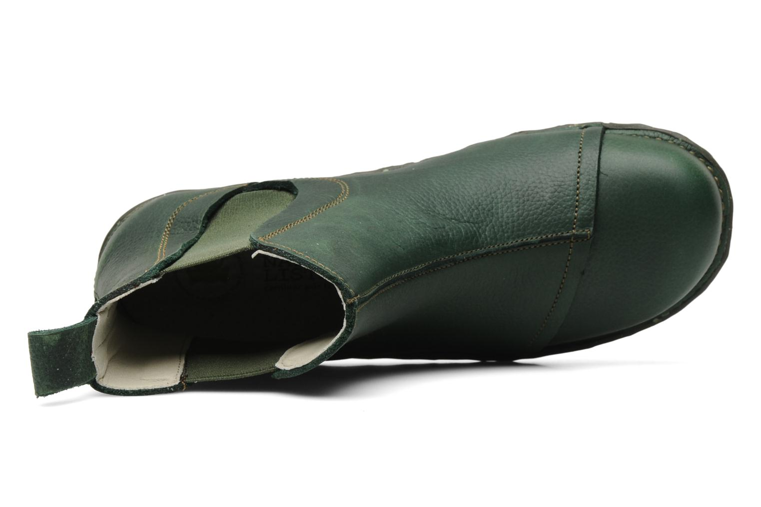 Ankle boots El Naturalista Iggdrasil N158 Green view from the left