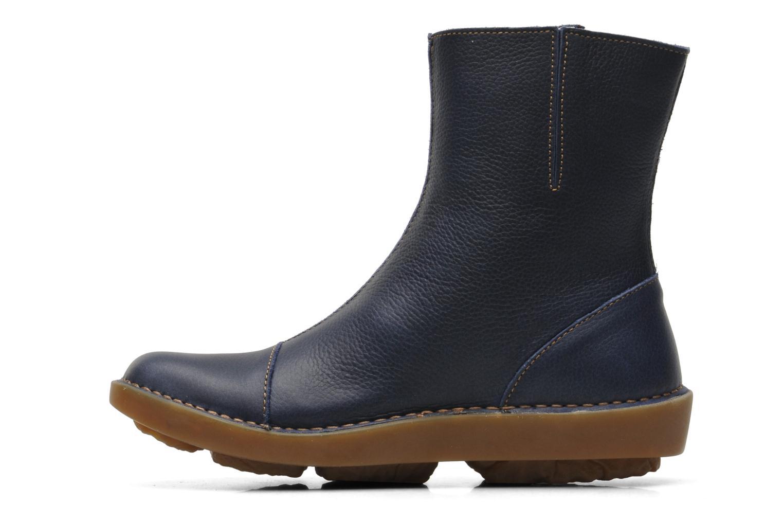 Bottines et boots El Naturalista Runas N193 Bleu vue face