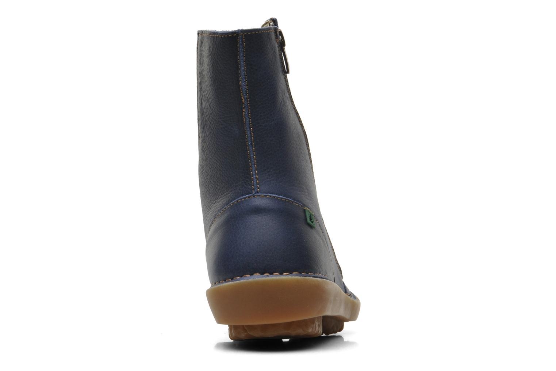 Bottines et boots El Naturalista Runas N193 Bleu vue droite