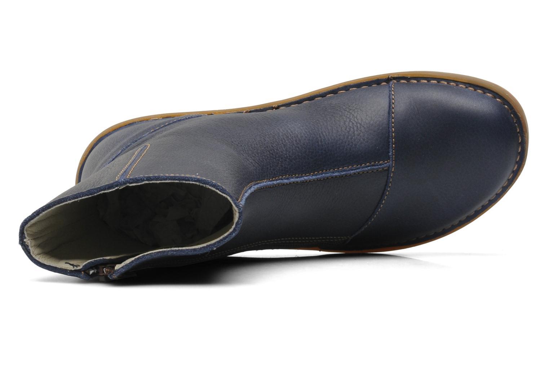 Bottines et boots El Naturalista Runas N193 Bleu vue gauche