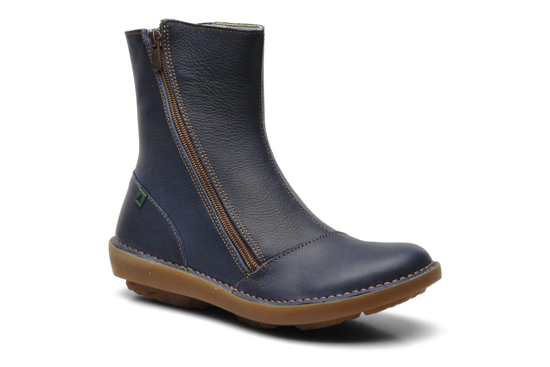 Bottines et boots El Naturalista Runas N193 Bleu vue détail/paire