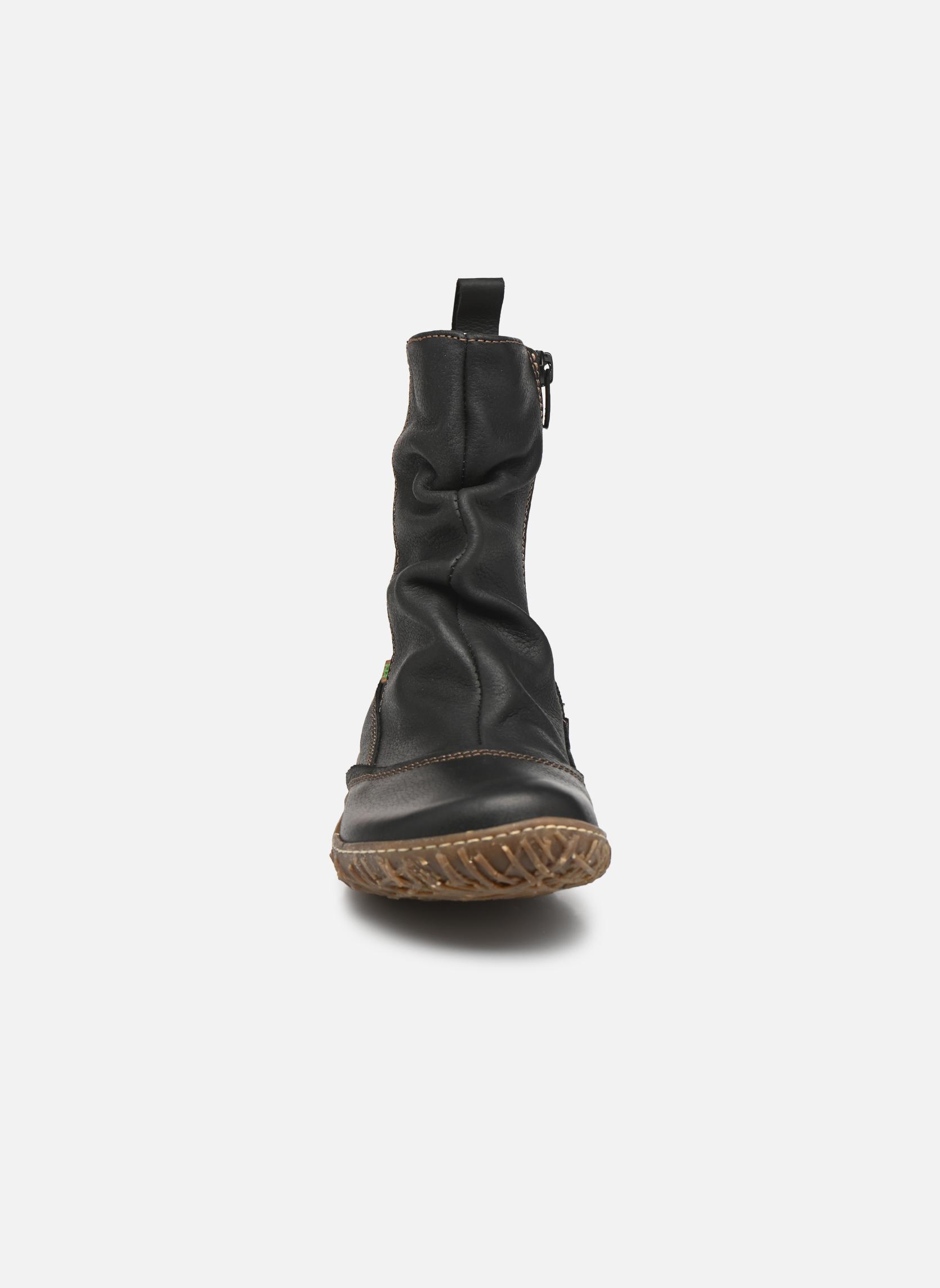 Boots en enkellaarsjes El Naturalista Nido Ella N722 Zwart model