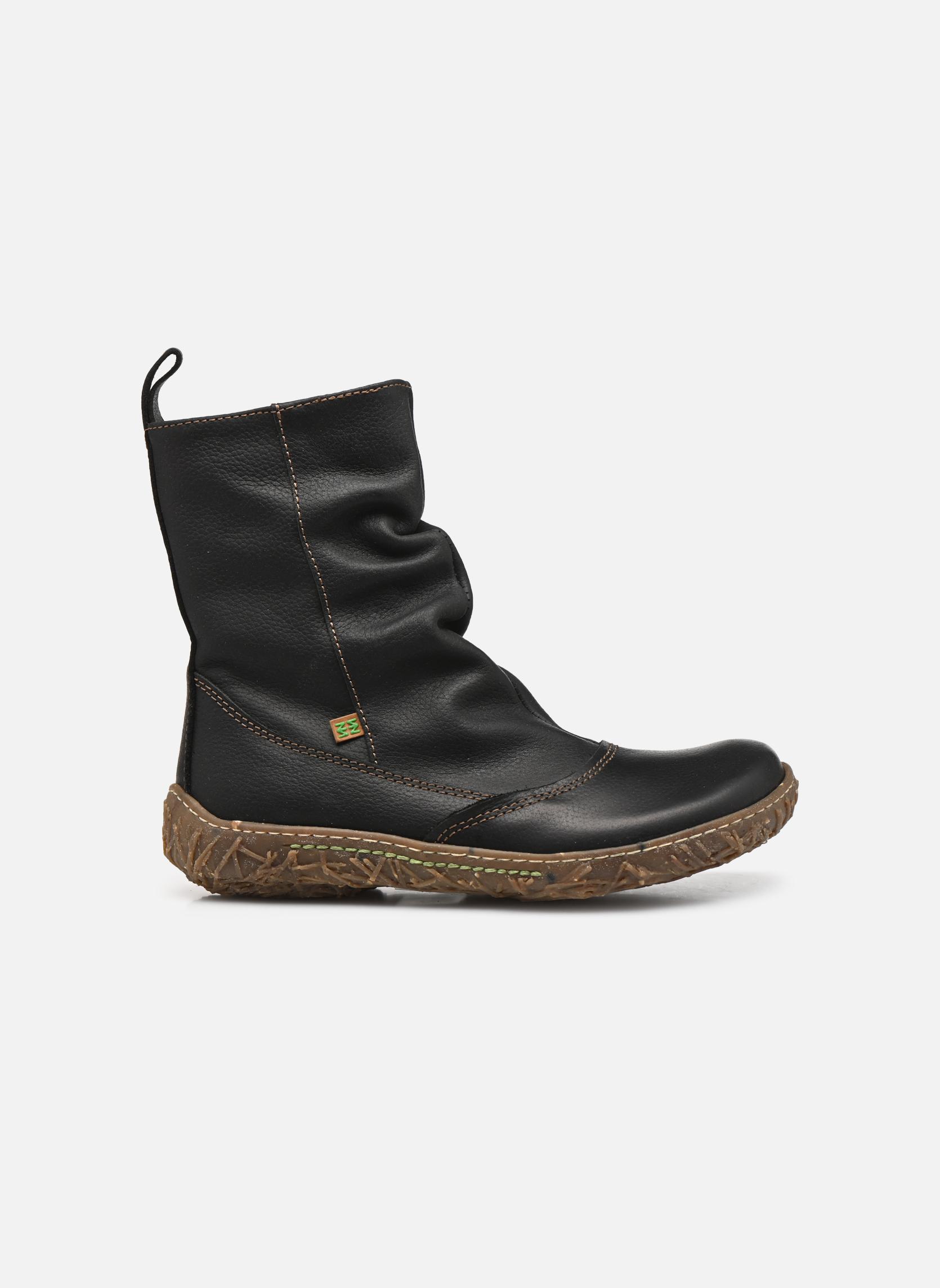 Boots en enkellaarsjes El Naturalista Nido Ella N722 Zwart achterkant