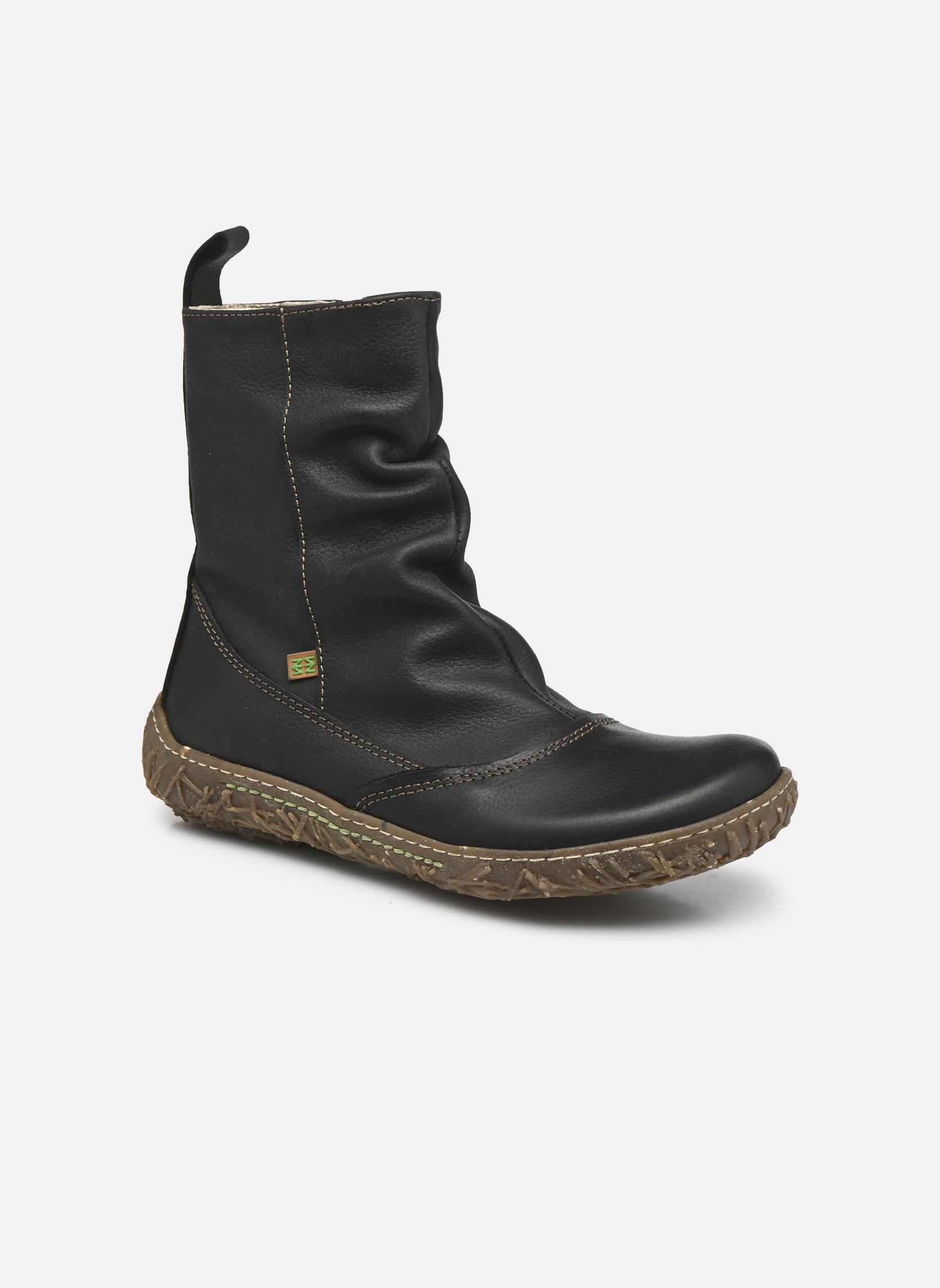 Grandes descuentos últimos zapatos El Naturalista Nido Ella N722 (Negro) - Botines  Descuento