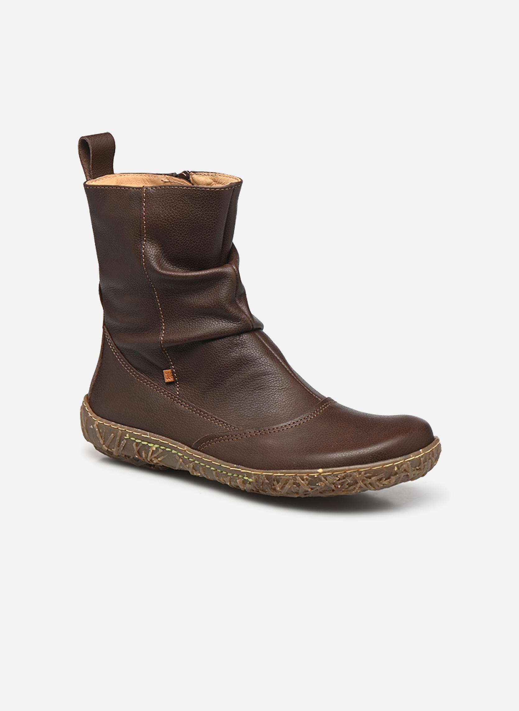 Los zapatos más populares para hombres y mujeres El Naturalista Nido Ella N722 (Marrón) - Botines  en Más cómodo