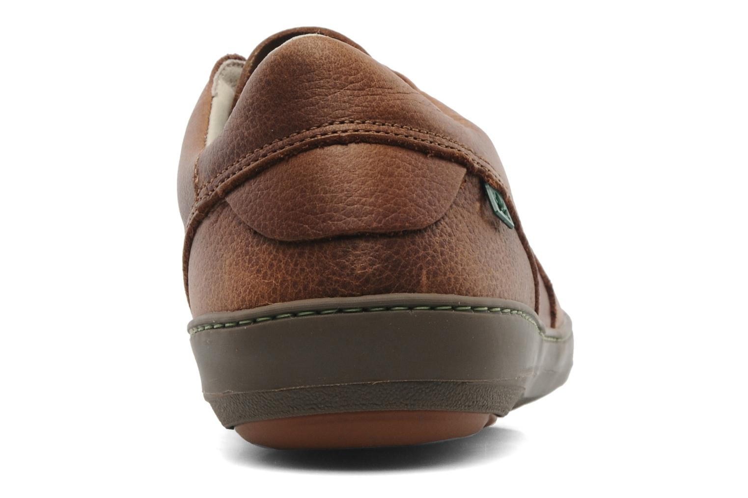 Lace-up shoes El Naturalista Meteo N211 Brown view from the right