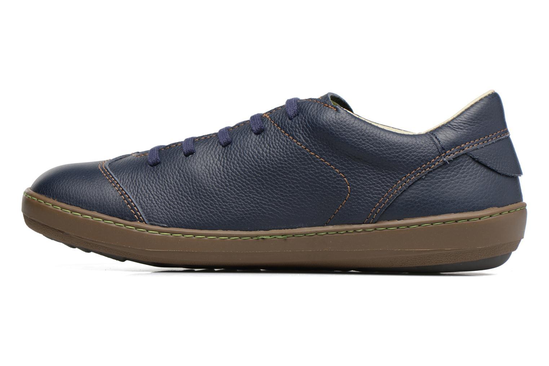 Zapatos con cordones El Naturalista Meteo N211 Azul vista de frente