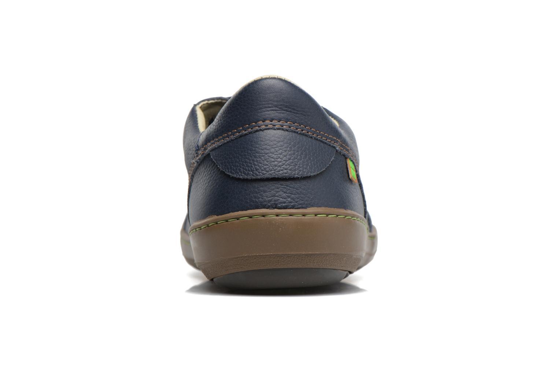 Zapatos con cordones El Naturalista Meteo N211 Azul vista lateral derecha