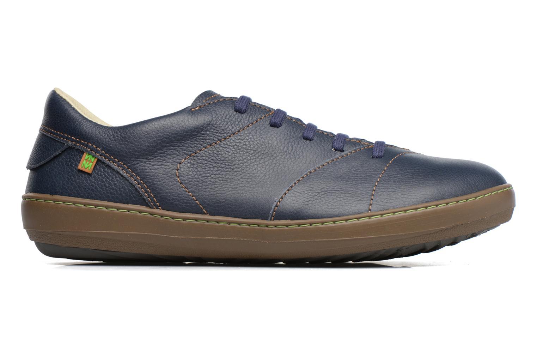 Zapatos con cordones El Naturalista Meteo N211 Azul vistra trasera