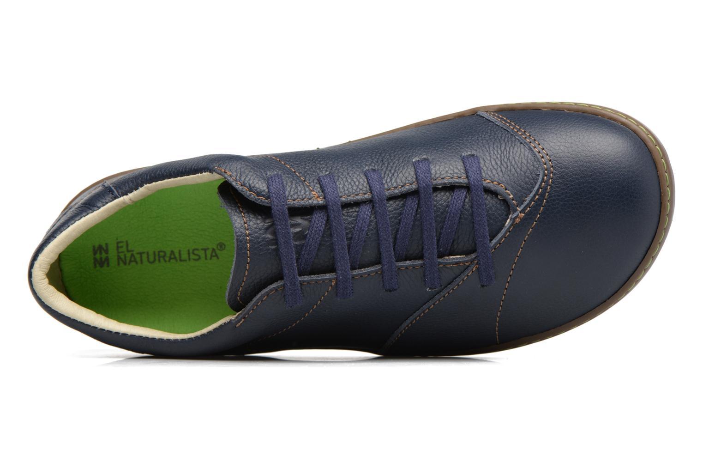 Zapatos con cordones El Naturalista Meteo N211 Azul vista lateral izquierda