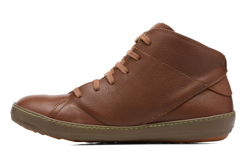 Chaussures à lacets El Naturalista Meteo N212 Marron vue face