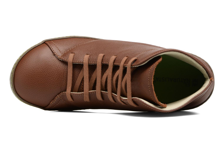 Chaussures à lacets El Naturalista Meteo N212 Marron vue gauche