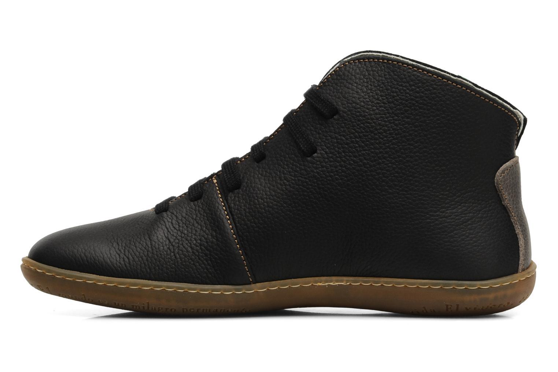 Chaussures à lacets El Naturalista Viajero N267 M Noir vue face