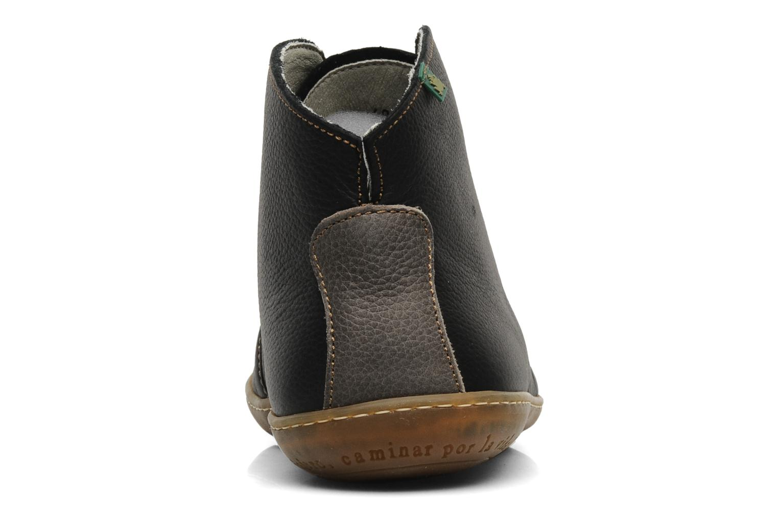 Lace-up shoes El Naturalista Viajero N267 M Black view from the right